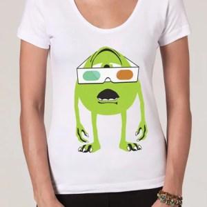 Camiseta 3D Vision