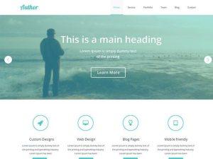 Creative Agency PSD web template