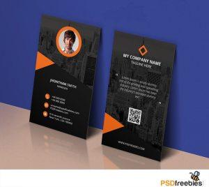 Creative Modern Corporate Business Card Template PSD