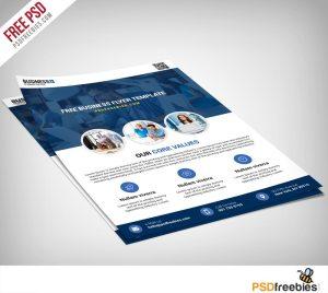 Creative Multipurpose Business Flyer Free PSD Template