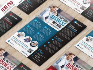 Creative Multipurpose Corporate Flyer PSD Template