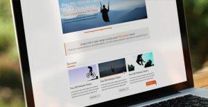 Creative Clean portfolio free PSD web template