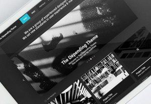 Creative The Depending Theme ‰ÛÒ PSD template