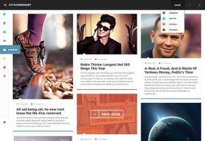 Creative Extraordinary Magazine ‰ÛÒ PSD template