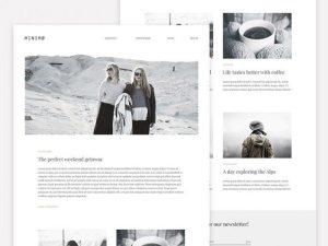 Creative Minimo: A minimal blog template