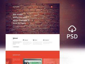 Creative my.kingdom ‰ÛÒ One page PSD template