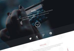 Creative PH ‰ÛÒ vCard / Portfolio template