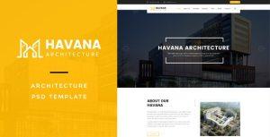 Havana : Architecture PSD Template