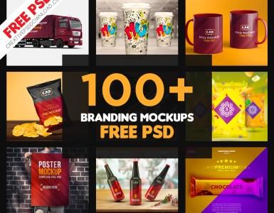 Branding Mockup | Branding Identity Mockup | Free PSD