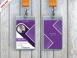 ID Card Mockup Freebie PSD