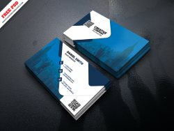 Corporate Creative Business Card Free PSD