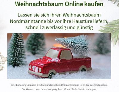 Weihnachtsbaum Online Versand