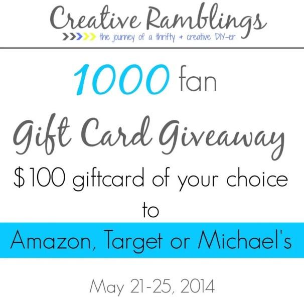 $100 giftcard #giveaway