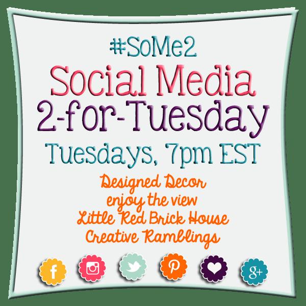 #SoMe2 - Social Media Linky Party