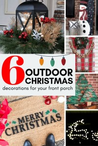 6 Outdoor Christmas Decorations for your Front Porch ...
