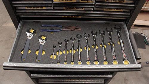 Tool Foam Organizer  19 Tips  Hacks for Your Tool Box