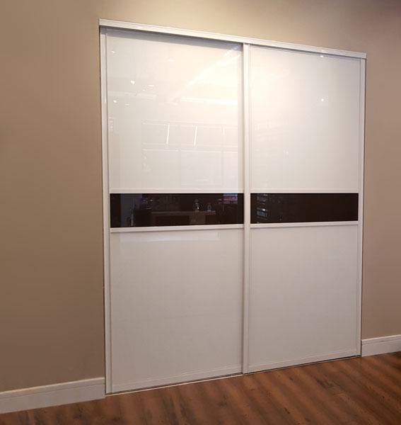 Painted Glass Closet Doors Creative Sliding Doors Of Chicago