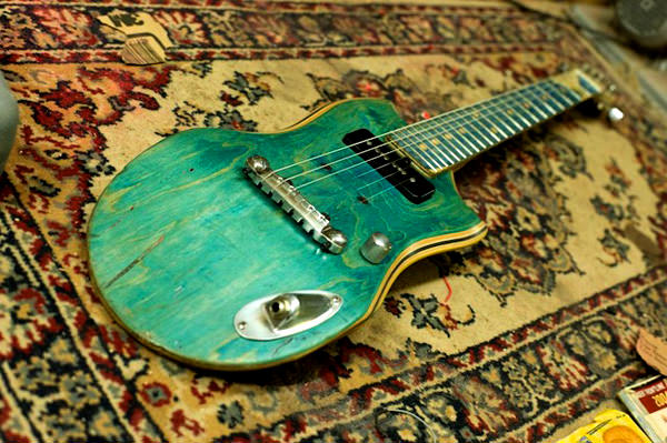 Electric Guitars Made From Old Skateboard Decks Gift