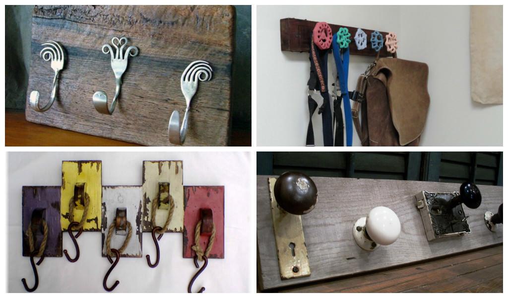 30 Vintage DIY Coat Hooks Gift Ideas Creative Spotting