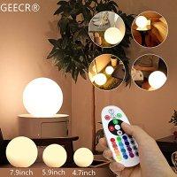 "Portable Led Lamp Geecr Light 5.9"" Decorative Lamps, Ba ..."