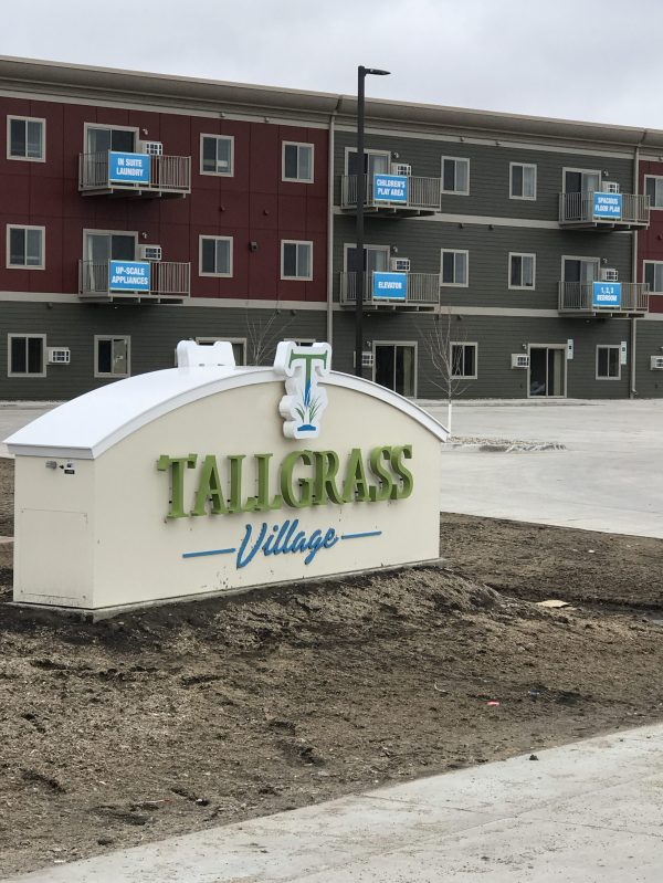 Apartment Building Complex Signs - Year of Clean Water