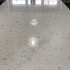 Distressed Kitchen Cabinets Saloom Tables Cambria Swanbridge Countertops - Stone Center