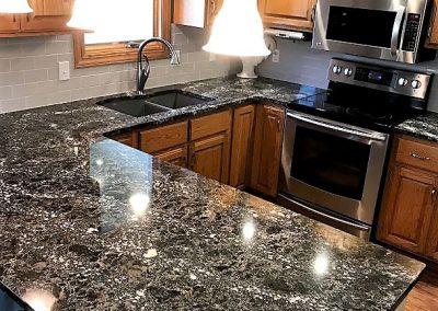 tiled kitchen countertops curtain panels cambria ellesmere quartz - stone center, sioux ...