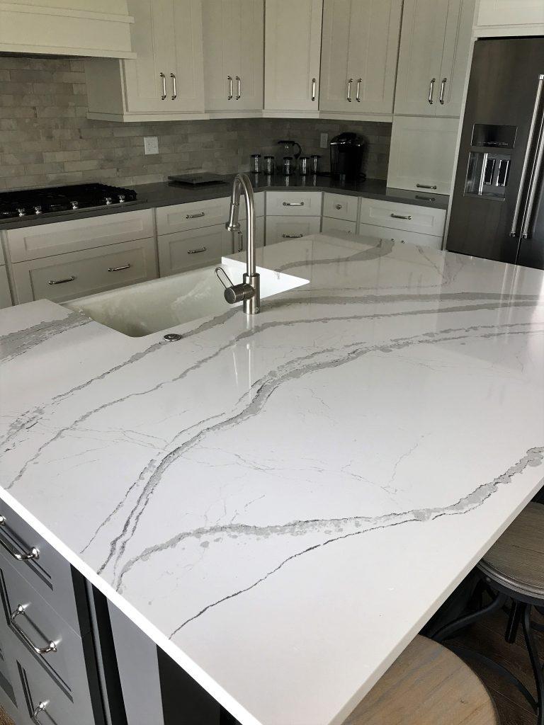 Cambria Brittanicca Quartz Kitchen Countertops Stone Center Sioux Falls Sd