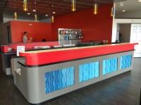 High End Reception Desk - Edge Fitness, Las Vegas NV