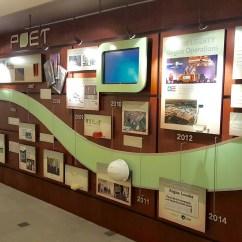 Black Kitchen Countertops Bridge Faucets Company History Wall - Creative Surfaces Blog