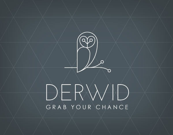 24bdafe8f95b37a2ecf795e110709ff9 35 Owl Logo designs For Your Inspiration