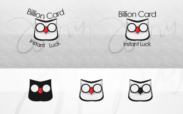 Billion Card Logo by Inphoar e1366526040653 35 Owl Logo designs For Your Inspiration