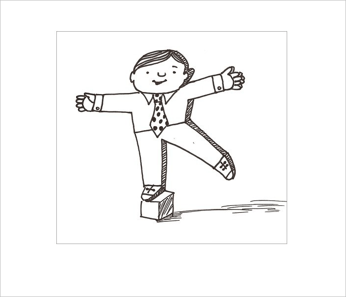 Small Flat Stanley Template