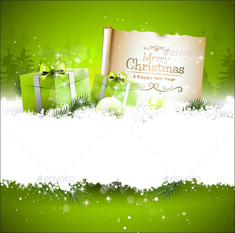 15 Christmas Vectors Free EPS PNG Design Templates