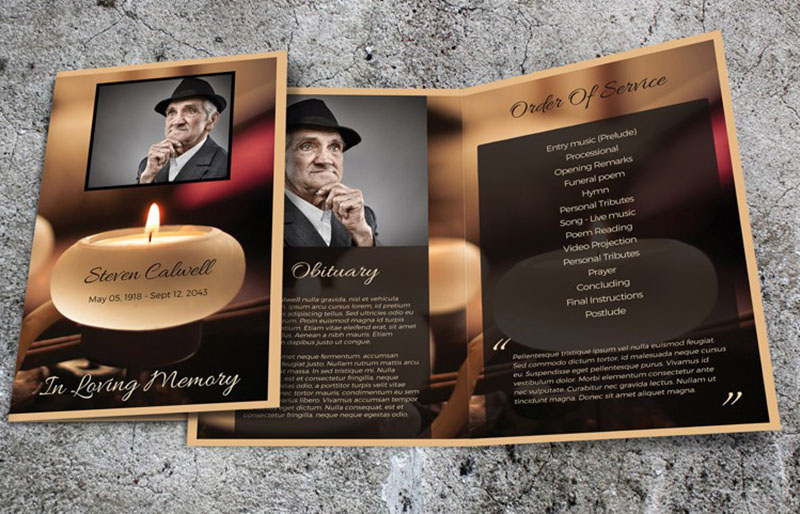 9 Obituary Template – Free PDF PSD Word Format Download