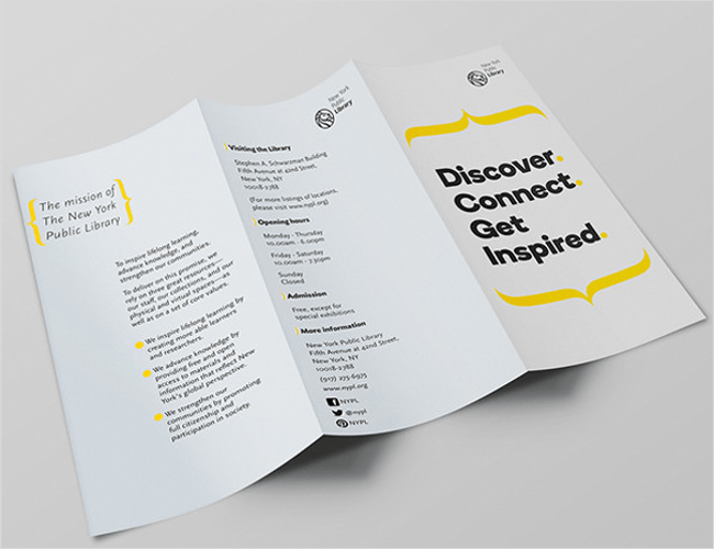 Library Brochure Templates Image collections - Template Design Free ...