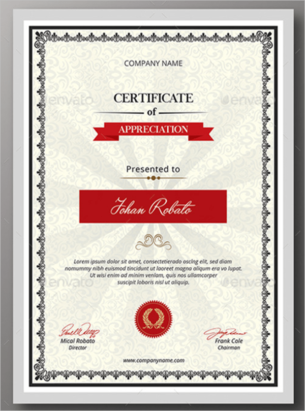 Business Certificate Templates Free & Premium Download