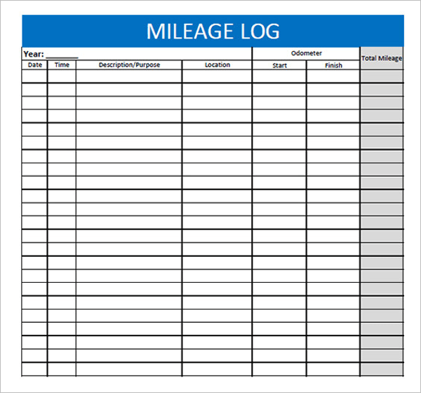 free vehicle expense log template wiring diagram honeywell thermostat 44+ mileage templates word, excel, pdf format