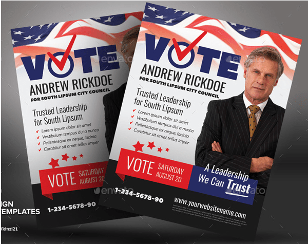 campaign poster template free
