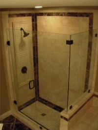 Tiled shower stalls - Tile Contractor   Creative Tile ...