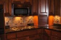 Decorative Natural Stone Backsplash - Tile Contractor ...