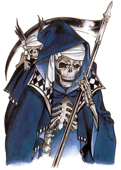 Death Art Castlevania Symphony Of The Night Art Gallery