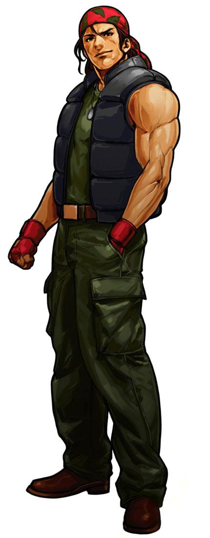 Ralf Jones  Characters  Art  The King of Fighters XI