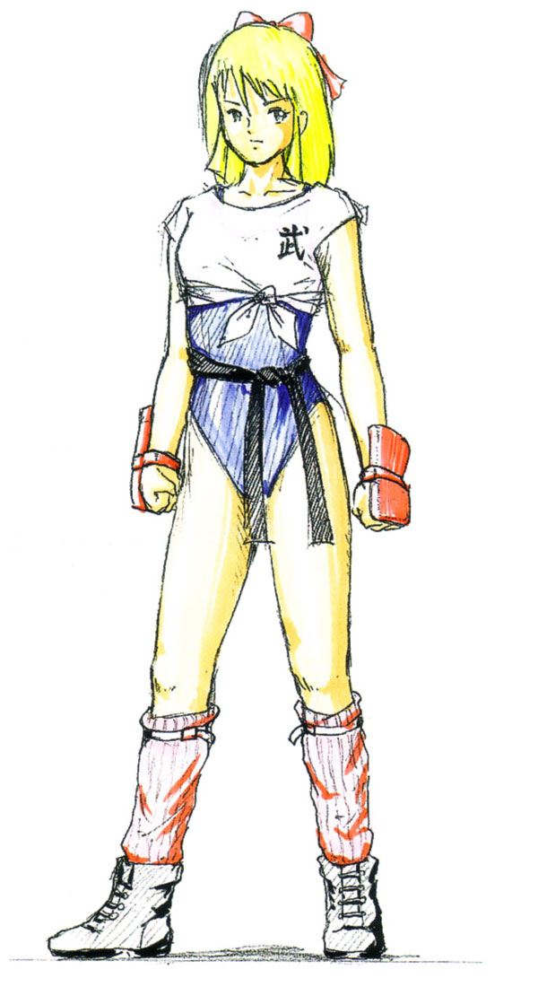 Hitomi Training Costume Art Dead Or Alive 3 Art Gallery