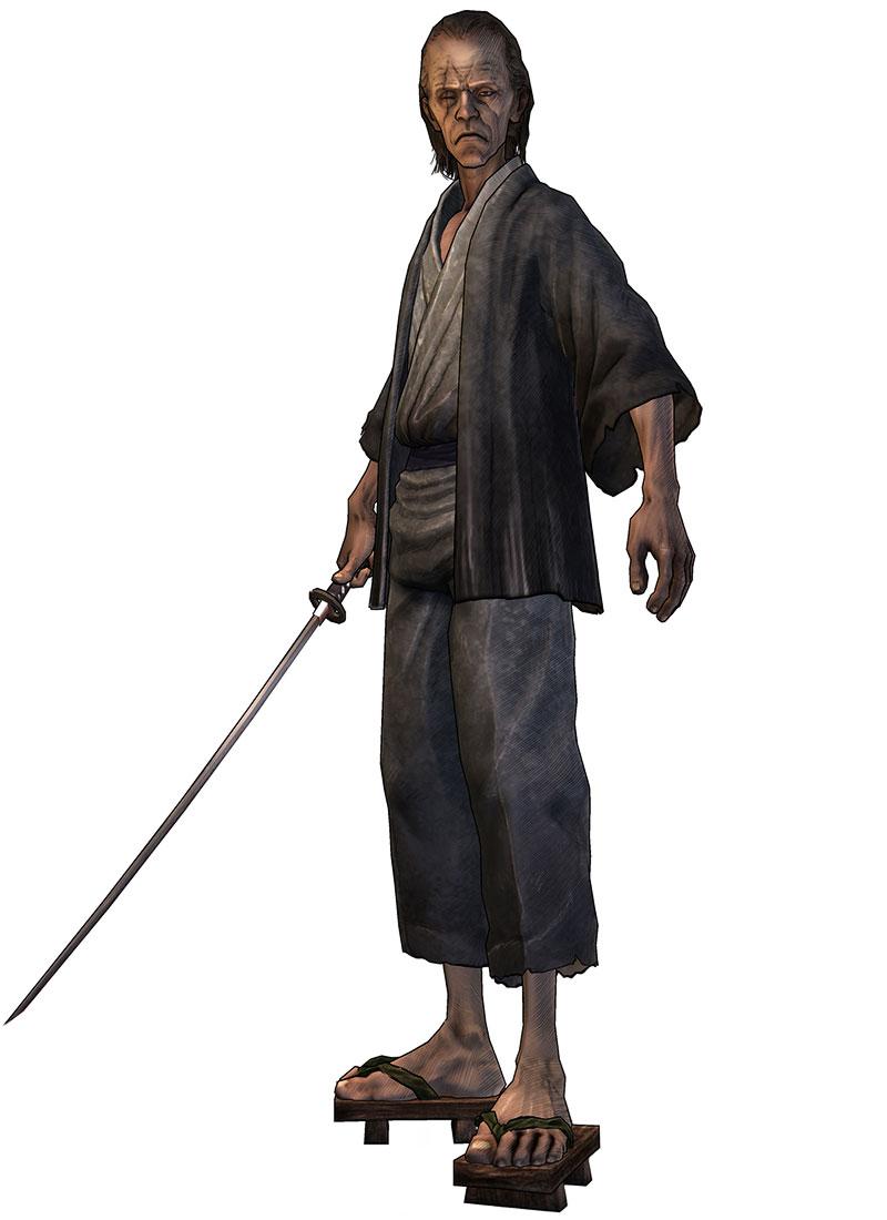 Sword Master  Characters  Art  Afro Samurai