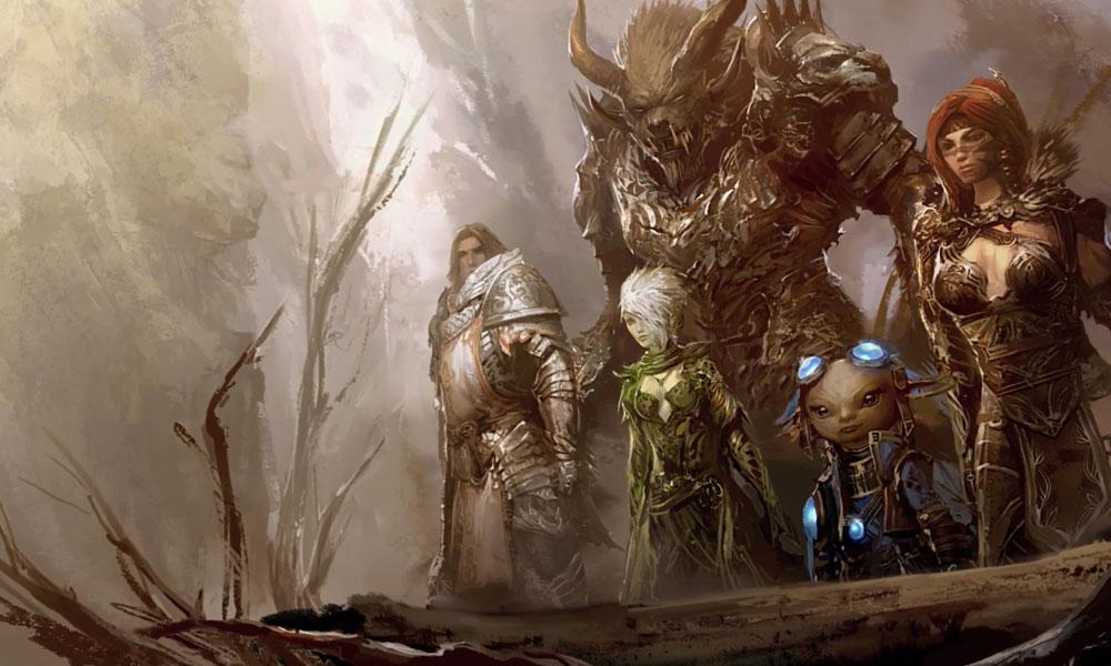 Hunter Wallpaper Hd Races Characters Amp Art Guild Wars 2