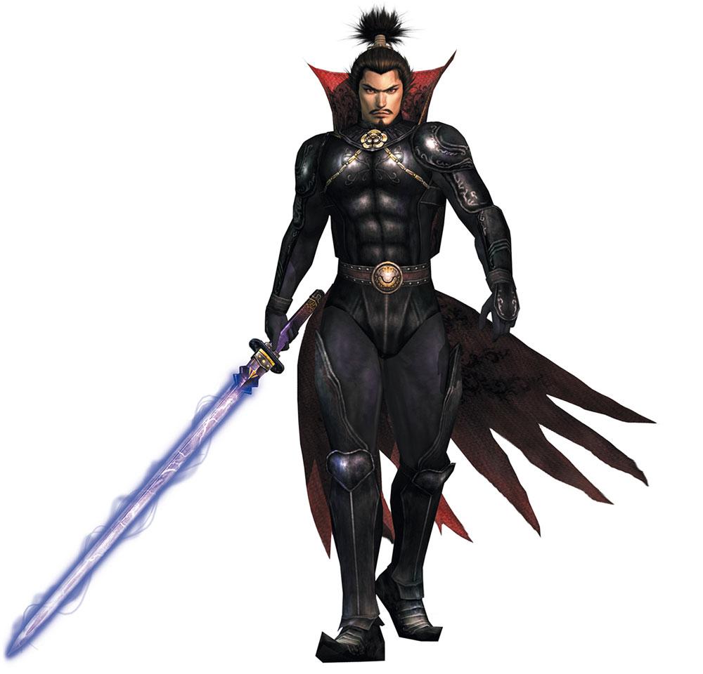 Oda Nobunaga  Characters  Art  Samurai Warriors