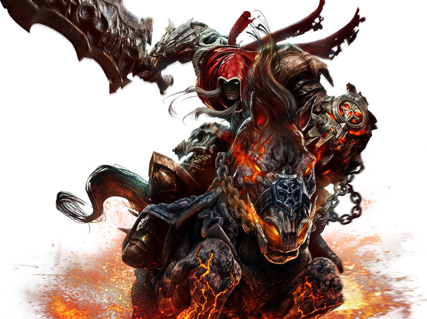 War Amp Ruin Art Darksiders Art Gallery