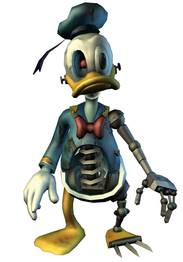 Animatronic Donald Characters Amp Art Epic Mickey