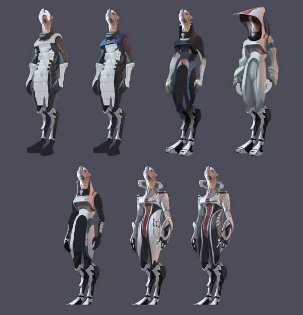 Mass Effect Salarian Concept Art